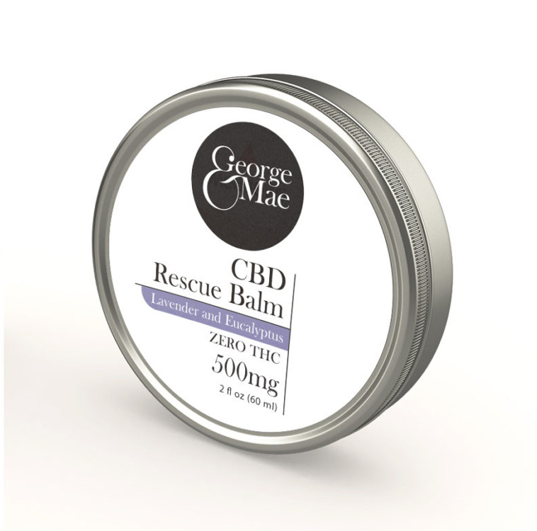 CBD 500mg topical balm