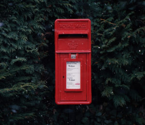 Post box - Last Post 20th Dec