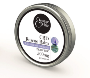 CBD topical rescue balm